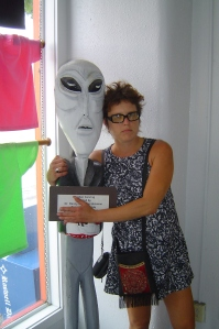 Our friend the alien/File photo