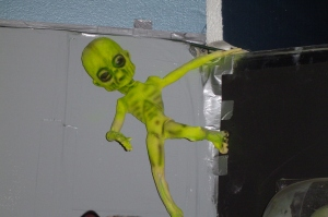 Duct taped alien/Ryn Gargulinski