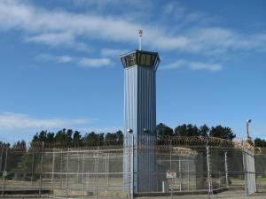 Pelican Bay guard tower/Ryn Gargulinski