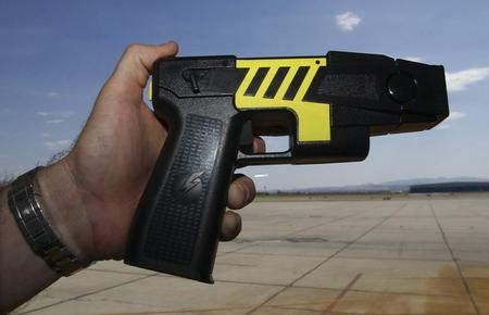 Boring old black taser