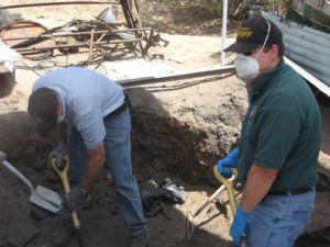 Digging up secrets - and bones/PCSD photo