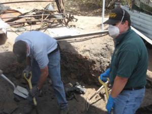 Digging up secrets - and bones/PCSD photo