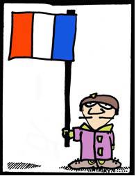 Vive la France/Illustration Ryn Gargulinski