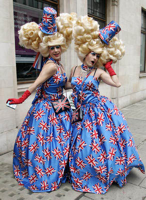 London's July 4 gay parade/AP Photo