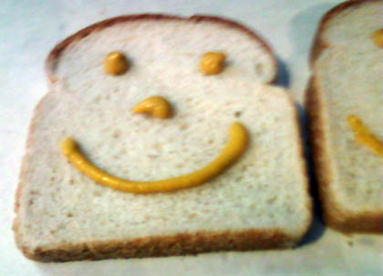 No one can resist happy bread/submitted photo