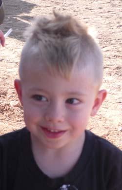 When his mom made him take the sunglassess off for a photo/Photo Ryn Gargulinski