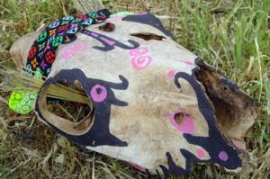 Bertha's head/Head design and photo Ryn Gargulinski