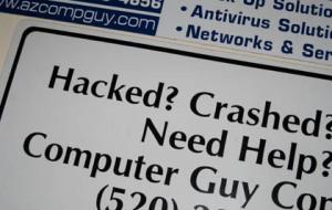 Tragedy 1: Computer crash/Ryn Gargulinski