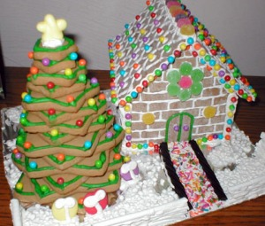 AZMouse's charming gingerbread house/submitted photo