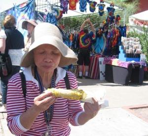 Street fair corn file photo/Ryn Gargulinski