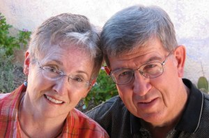 Local hero Gary Morris with wife Carroll/submitted photo