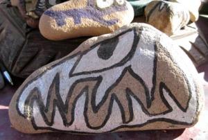 American made rocks/Art and photo Ryn Gargulinski
