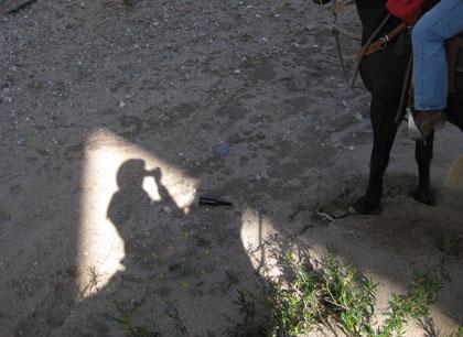 Chapo shadow play/Ryn Gargulinski