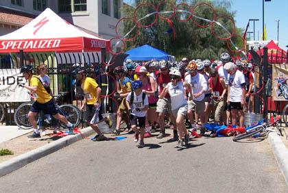 Tucson Urban Assault Ride foot race/Urban Assault Ride photo