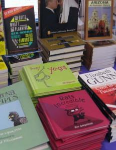 Two books and photo Ryn Gargulinski