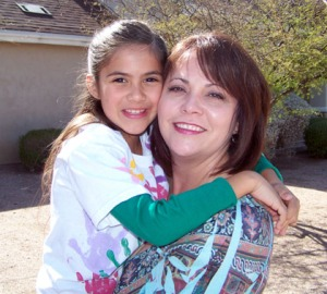 Christina Hernandez with daughter Natalie/submitted photo