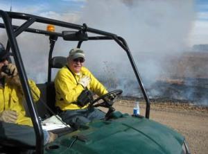Bad air day repair man in Clovis, N.M./Ryn Gargulinski