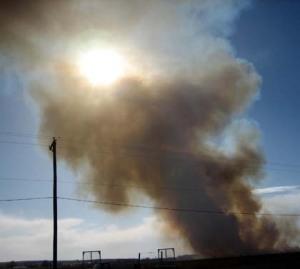 Bad air day in Clovis, N.M./Ryn Gargulinski