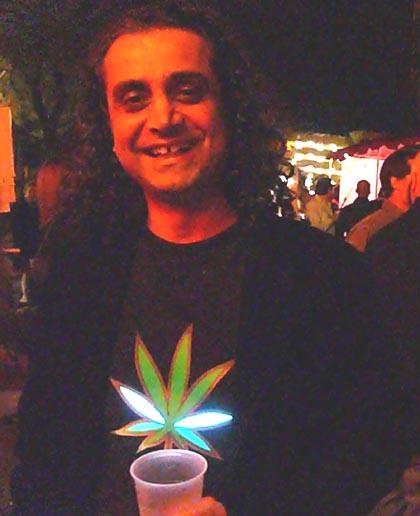 Pot shirt party goer/Ryn Gargulinski file photo