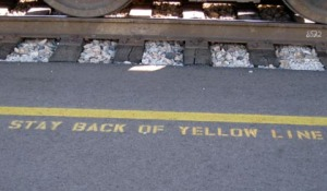 Magic yellow line/Ryn Gargulinski