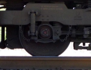 Folks have long been fond of putting coins on the train tracks/Ryn Gargulinski