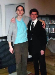 Tim DaGiau (right)/submitted photo