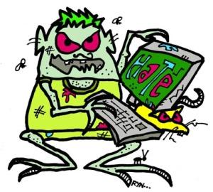 Internet troll/Ryn Gargulinski
