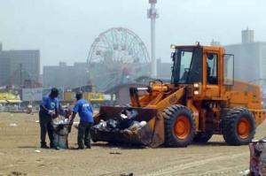 Brooklyn's Coney Island on July 5/File photo Ryn Gargulinski